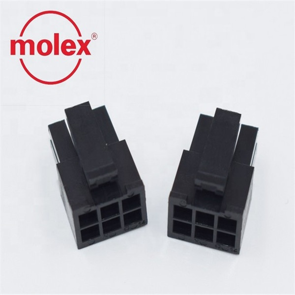molex 6pin 3.00mm pitch MOLEX Original 43025 series Crimp Housings connectors