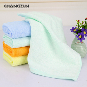 Ultra soft durable bamboo baby washing cloth baby towel