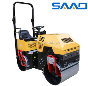 Double drum full hydraulic vibration hot sale 1 ton road roller for sale(SYL-880)
