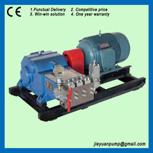 high pressure triplex plunger pumps test pump