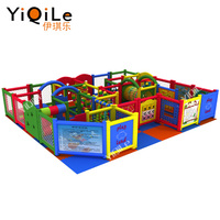 Newest kids indoor playground sets ball pool soft play for sale