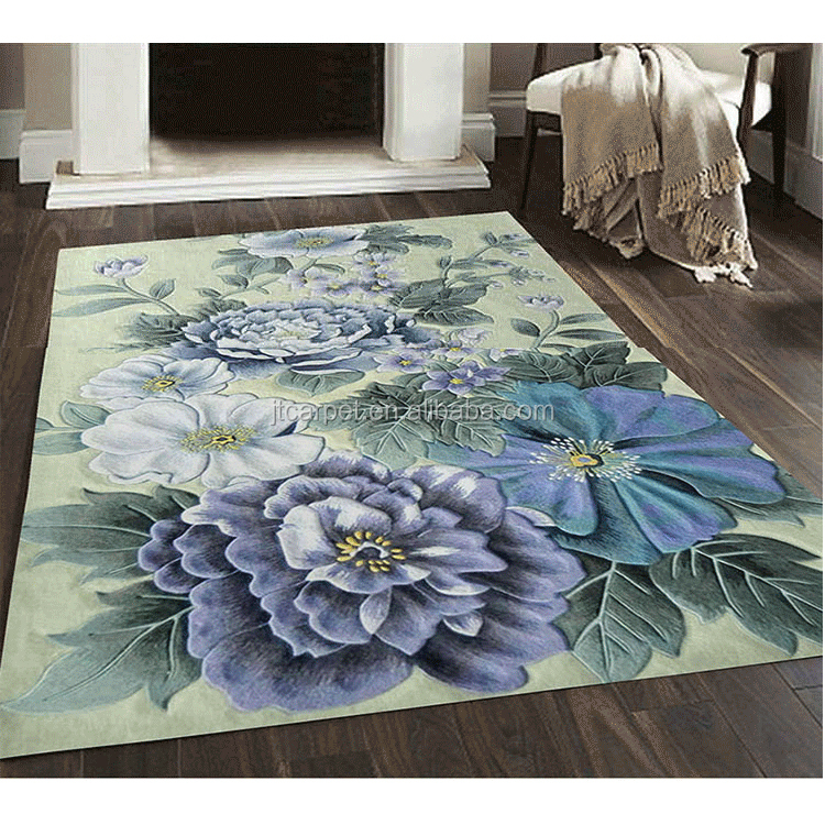 viscose silk carpet and rugs import from china