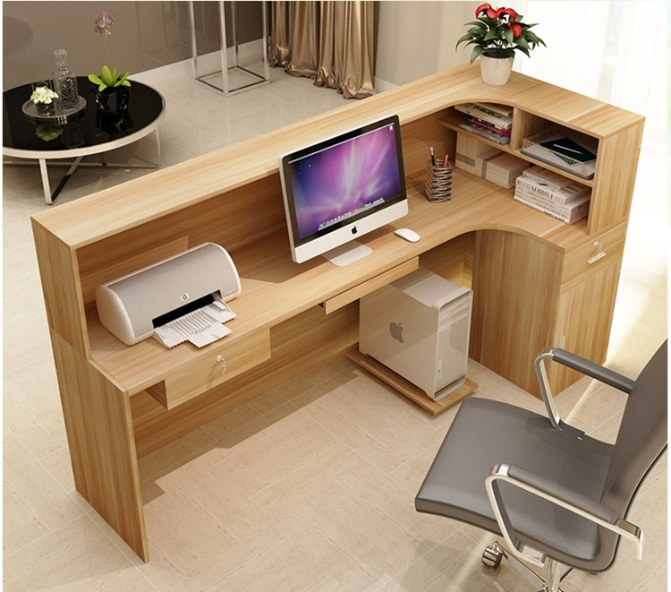Mdf Pd Material Customized Size Furniture Office Front
