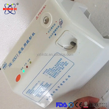 Medical equipment syringe needle cutter and burner