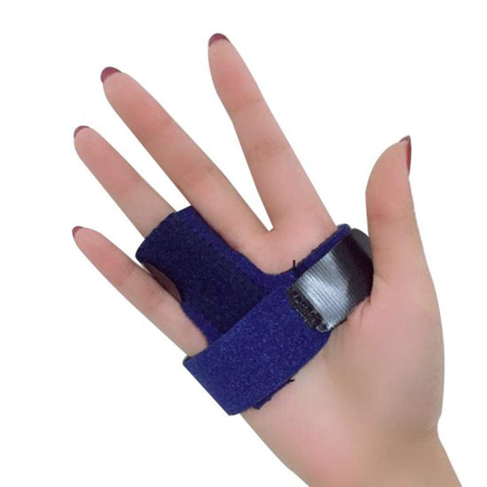 zinnor Finger Splint, Adjustable Finger Fixed Splint Finger Fracture Fixation Brace for Alleviating Finger Locking, Popping, Bending, Stiffness- Tendon Release and Finger Pain Relief