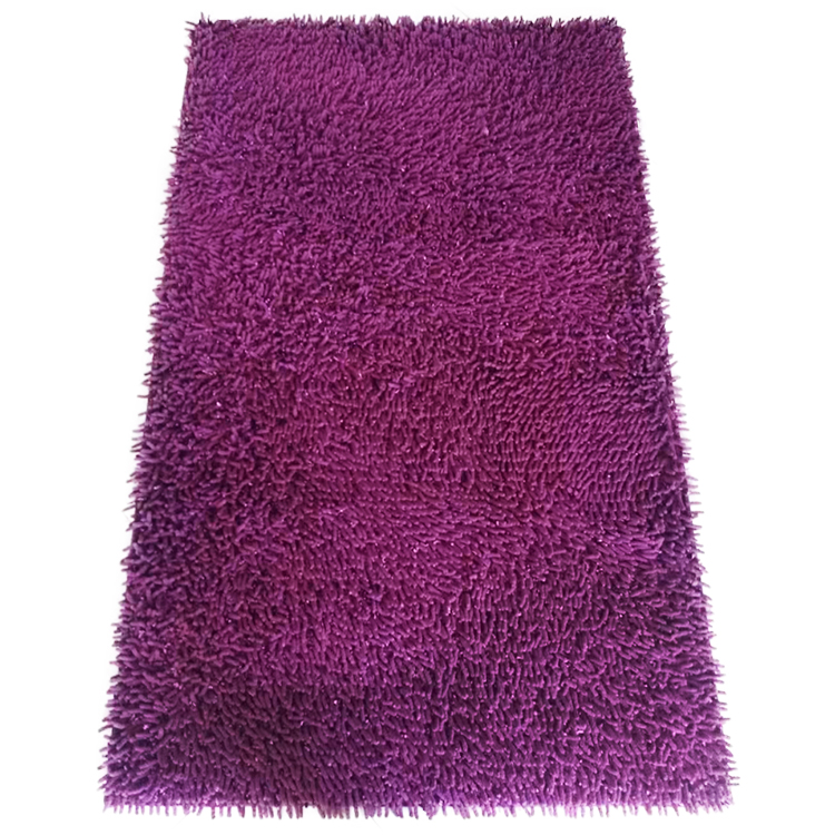 absorbent soft chenille microfiber quick dry bath mat  or floor shower mat