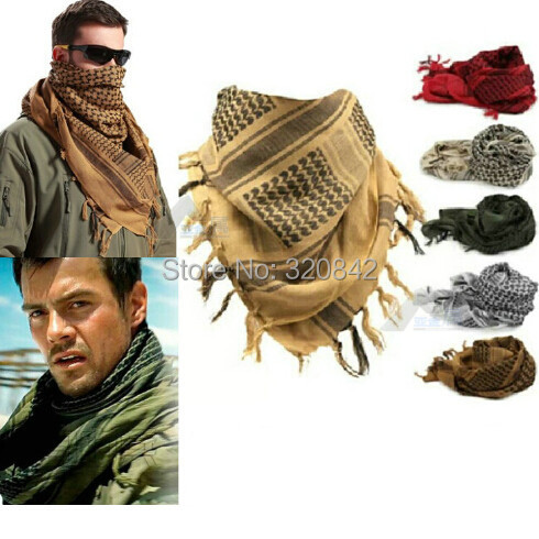 Men Winter Military Windproof Scarf Muslim Hijab Shemagh Tactical Desert  Arabic Keffiyeh Scarf 100% Cotton Thickened Women Scarf 72f9a7667