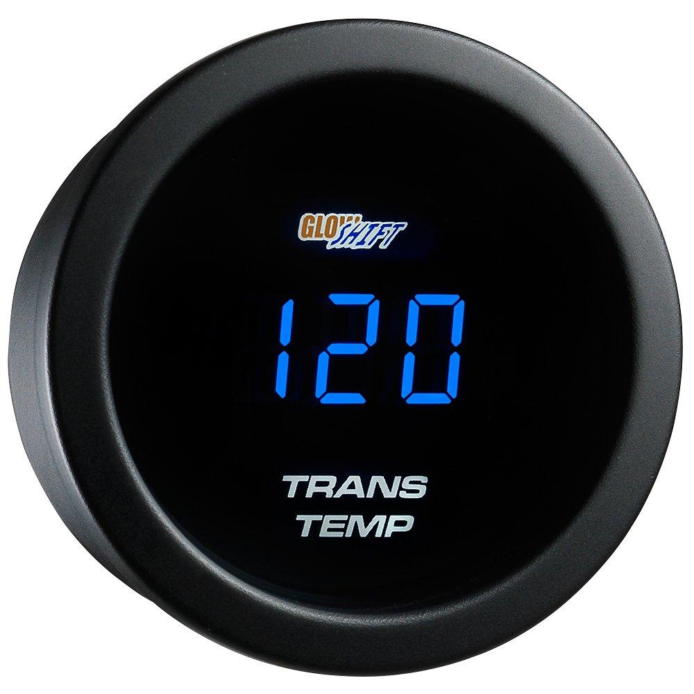 GlowShift Blue Digital LED Transmission Temperature Gauge