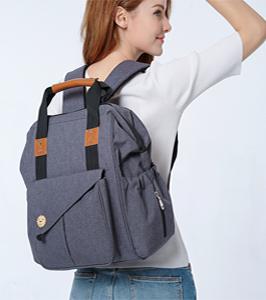 Bolsa mochila usb multifunción de maternidad bebé bolsa de pañales madre Silla de viaje, organizador de bolsa de pañales bebé paquete