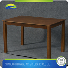 New Design Outdoor Restaurant Wood Dining Table Set And Chair