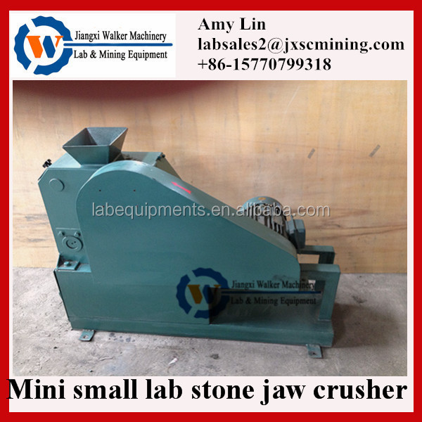 6-38mm output size lab jaw crusher for stone/granite/rock/hematite