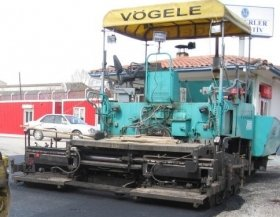 USED 1998 VOGELE Super(Various Models , all clean and in good Condition)