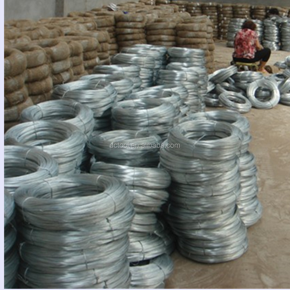 Shandong 3mm construction hot dipped/electro galvanized iron steel binding wire price