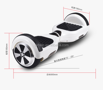 hoverboard electric skateboard 6.5 inch slef balancing hoverbaord, new protective environmental transportation