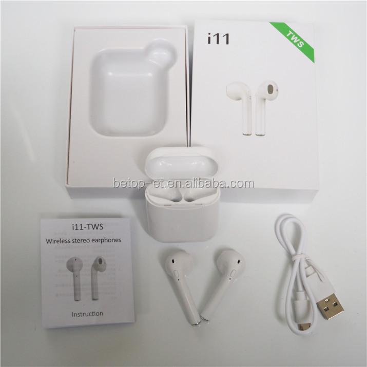 Cặp song sinh Đôi Tai Nghe Không Dây Bluetooth Cặp Tai Nghe Bluetooth I7 TWS & I7S Tws Không Dây Tai Nghe với sạc dock