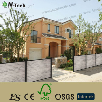 Wpc Test sale wpc garden fence with wind resistance test report buy wpc