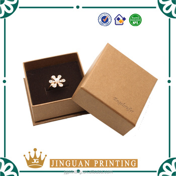 Wholesale Chipboard Paper Custom Printing Jewelry Box Making
