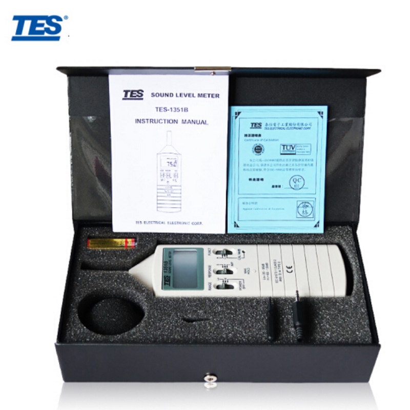 Tes-1351b Sound Level Meter noise dB meter