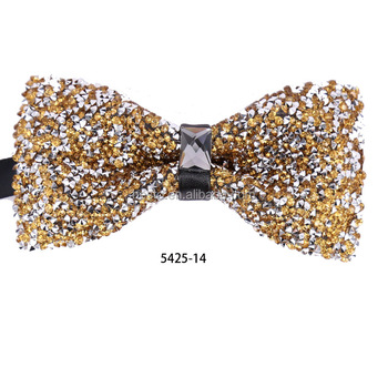 Guangzhou China wholesale Luxury for wedding or party men's crystal Bowtie
