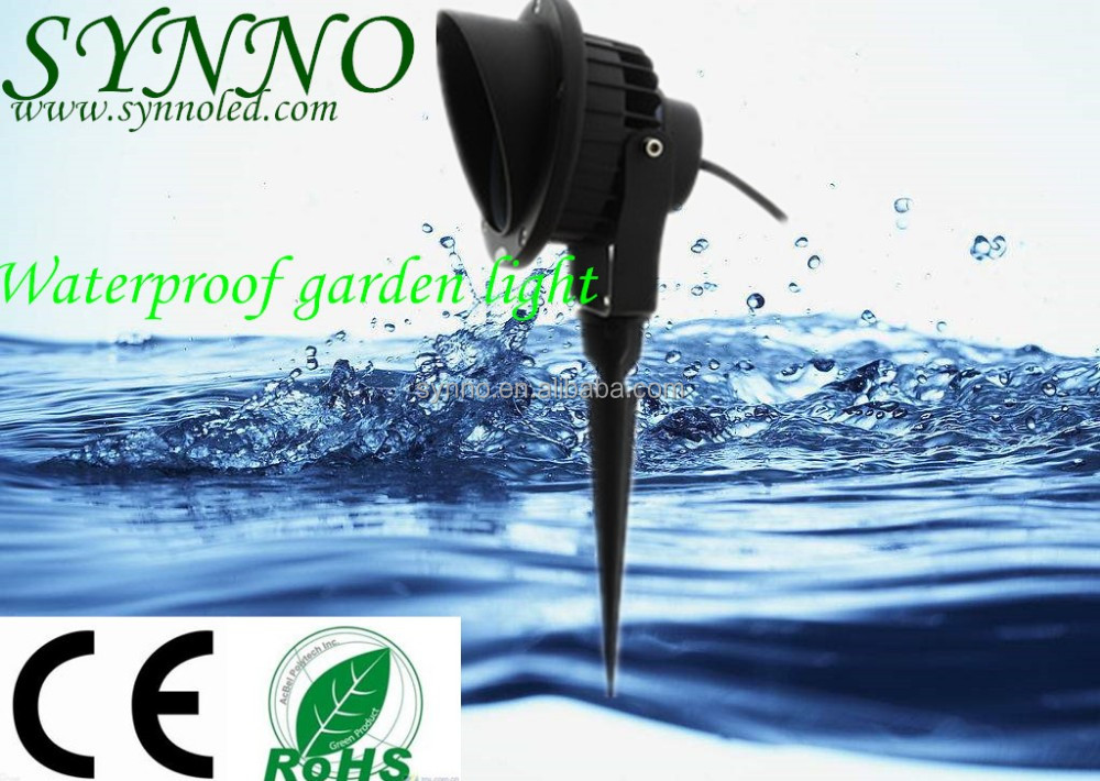 IP65 9W 12W Taiwan Epistar COB LED spike light outdoor garden lamp