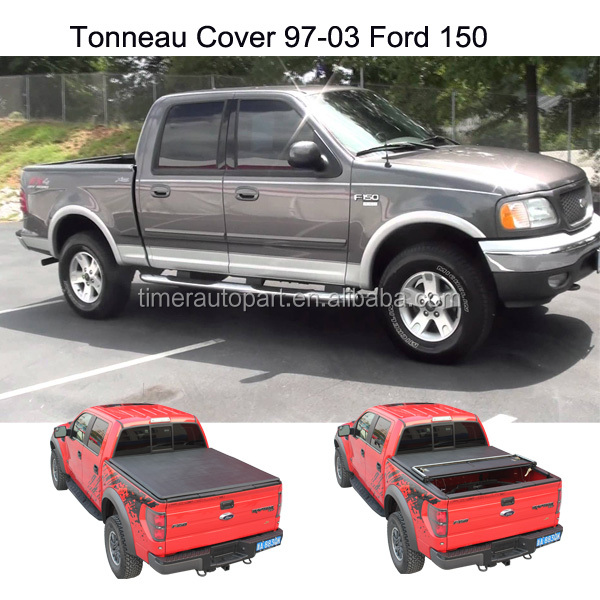 pickup truck accessories folding Soft tonneau cover for 97-03 Ford 150