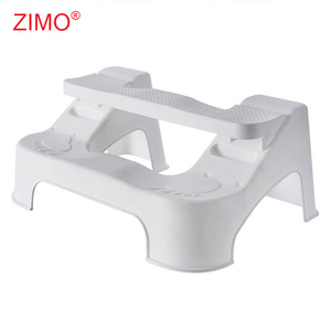 2018 New Adjustable Plastic Potty Bathroom Toilet Squatty Stool