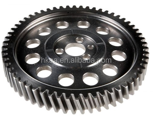 china special custom cnc machining parts aluminum/stainless steel camshaft timing gear from manufacturer
