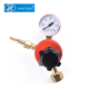 lpg regulator tussian type for welding and cutting single gauge high pressure propane regulator