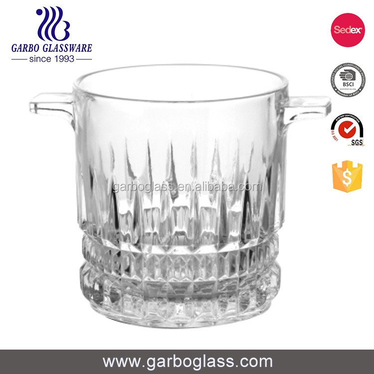 China factory supply best selling crystal glass ice bucket