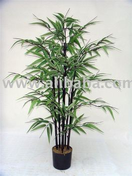 Artificial Black Bamboo Tree