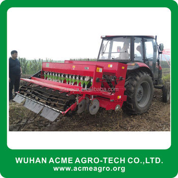 Latest Agriculture Machine Rotary Wheat Corn Seeder China ...