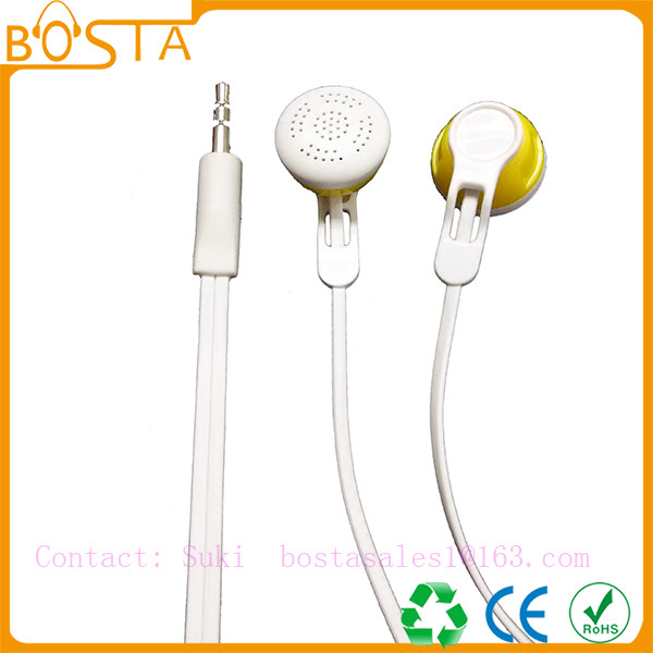 China supplier mobile accessories stereo cheap earphone with microphone