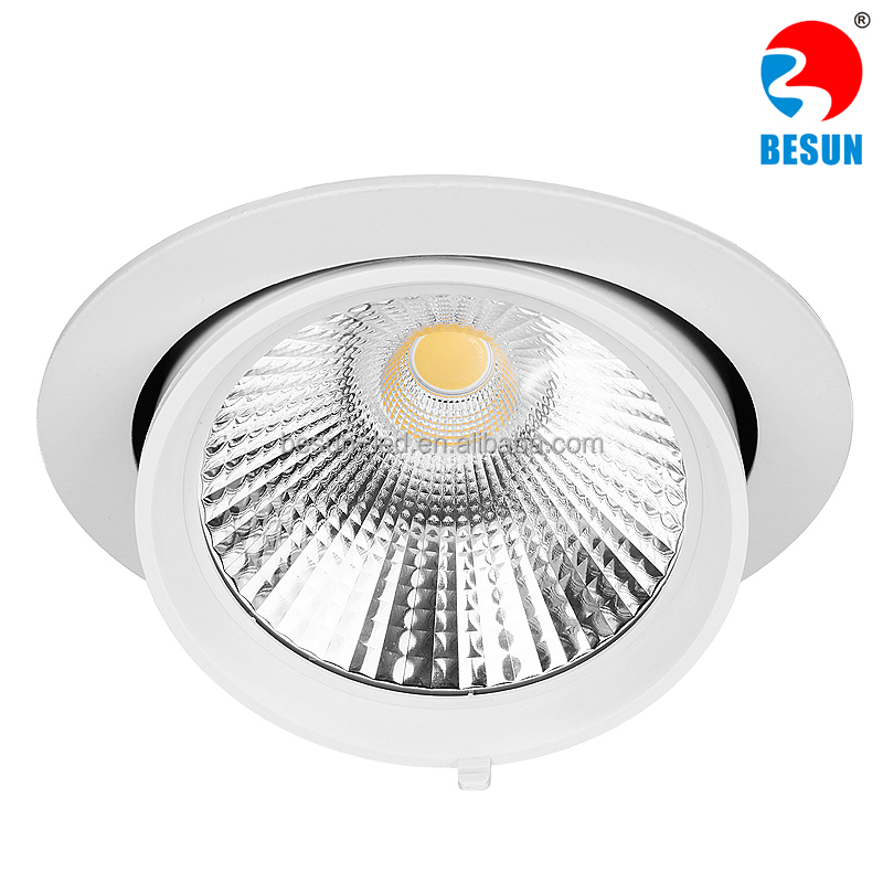Cob Gimbal Trim Led Downlight 5 Inch