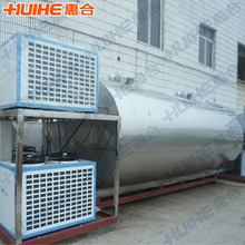 Direct Milk Cooling Tank with Compressor