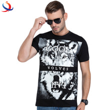 Custom Logo Printed T-Shirt For Men Export Quality Short Sleeve Cotton Tee Shirt