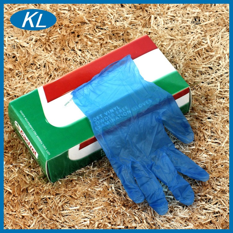 Good quality factory directly sale disposable vinyl gloves for house