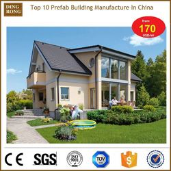 prefab steel frame stone 3d wooden puzzle 80m2 house plan