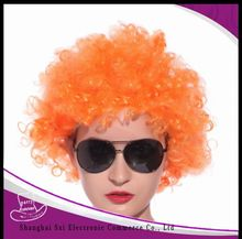 China supplier special red party city wigs