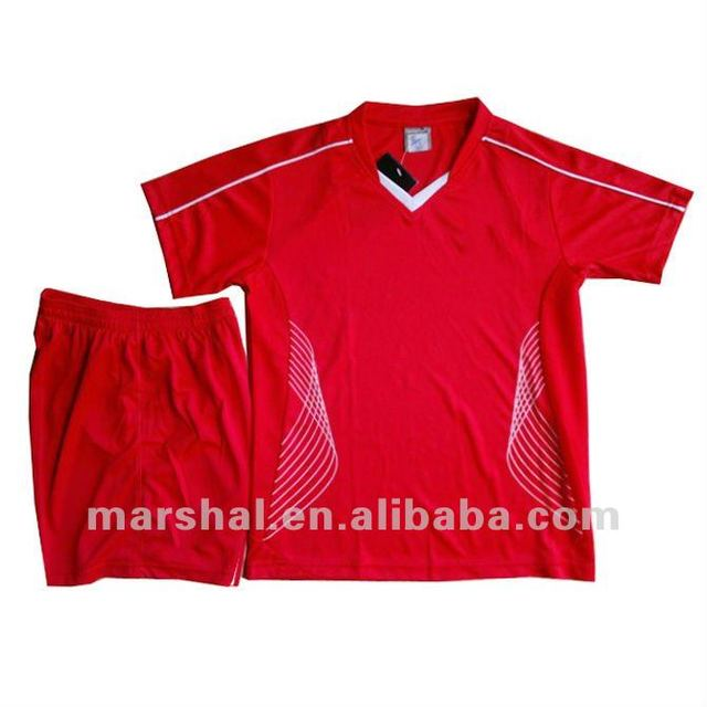 Wholesale soccer jersey uniform, children soccer training jersey ,kids football jersey