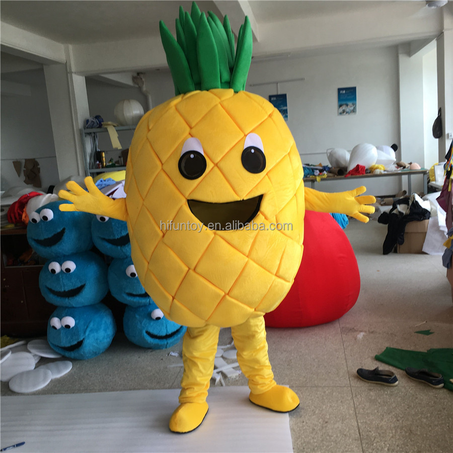 Funtoys CE Ananas cartoon Fruit mascotte kostuums
