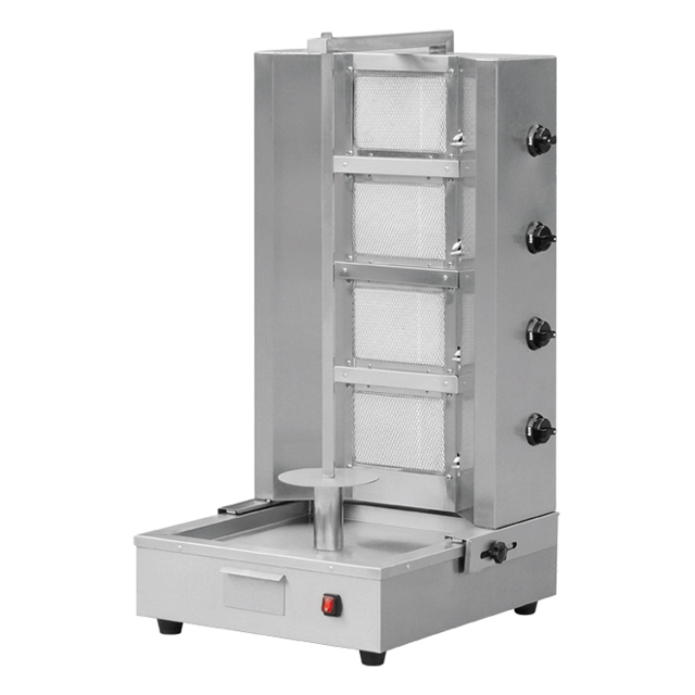 Keuken Apparatuur/Doner Kebab Machine/Rvs Gas Shoarma Machine BN-RG04