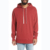 Custom mens drop shoulder fleece blank oversized hoodie with sides split