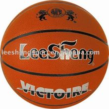 Moisture-absorbing PU leather basketball