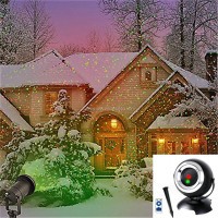 New Hottest Products 8 in 1 Patterns Waterproof Outdoor spot Garden Laser Light