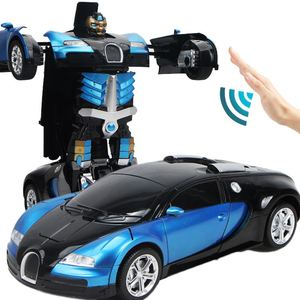 Intelligent Shape Shifting Robot RC Distortion Deformation Stunt Cars Remote Robot Toys Transform Car