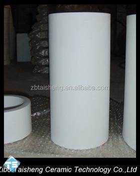 Customer Size 92 Alumina Ceramic Tube Liner For Ash Convey ...