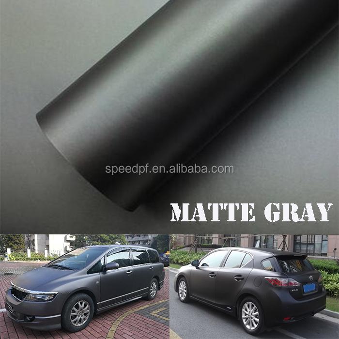Matte Grey Car >> Hot Sale Waterproof Pvc Adhesive Car Body Wrapping Protective Matte Grey Vinyl Buy Matte Grey Vinyl Hot Sale Colored Car Wrap Vinyl Pvc Self