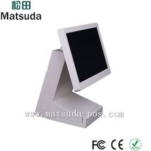 touch screen hotel pos computer with advertising display /digip