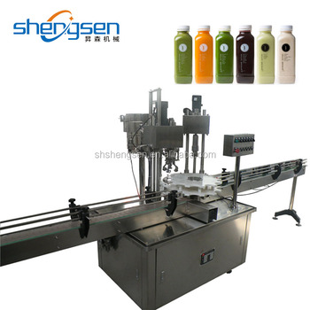 Automatic Rotary Plastic Bottle Screw Capping Machine