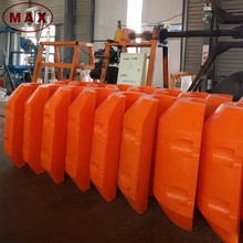 Orange hdpe pipe floater/pipe float for hdpe pipe
